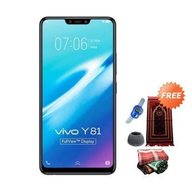 VIVO Y81 Smartphone - Black [16GB/ 3GB] + Free Paket Sholat Pria