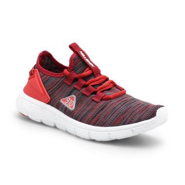 900691cac 910 Men AMARU Running Shoes - Red White [11211552610]