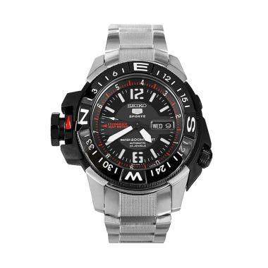 Jual Jam Tangan Seiko 5 Sport Black Online - Harga Baru Termurah ... 410ba2442d