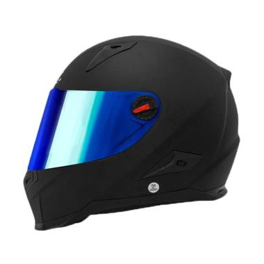 Snail Seri FFS1 Helm Fullface  Kaca Revo Blue  83ac1574f2ff