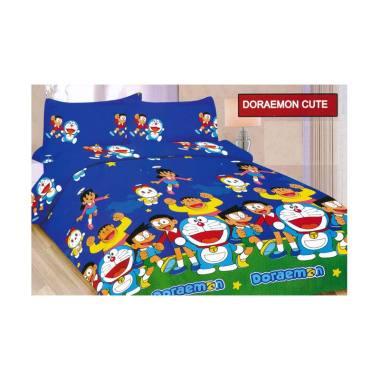 Bonita Motif Doraemon Cute Set Seprei [King Size]