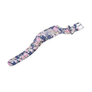 harga Bluelans #14 Fashion Print Silicone Replacement Watch Strap Band for Garmin Vivofit 3 Blibli.com