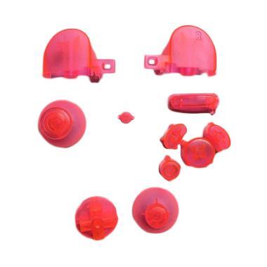 harga Bluelans Button Set with Thumbsticks for Nintendo Gamecube Controller Transparent - Pink Blibli.com
