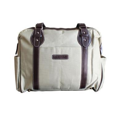 harga Baby Scots MB009 Diapers Bag Cream Cokelat Blibli.com