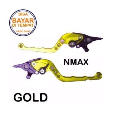 harga Aksesoris NMAX Handle REM Variasi Motor FULL CNC NMAX GOLD Blibli.com