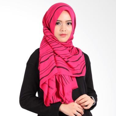 Helwa Tierack Hijab Pashmina - Magenta