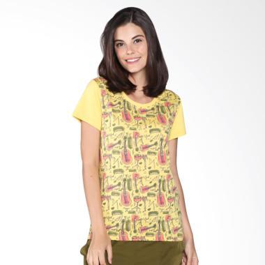 Meiji Joy Donna 1203 YEL 31605 T-shirt