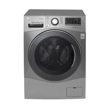 LG F1409HPPV Mesin Cuci Front Loading 9 Kg Dryer 100% Kering 5 Kg