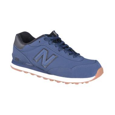 New Balance Mens Classic Sepatu Olahraga - Blue ML515TNB