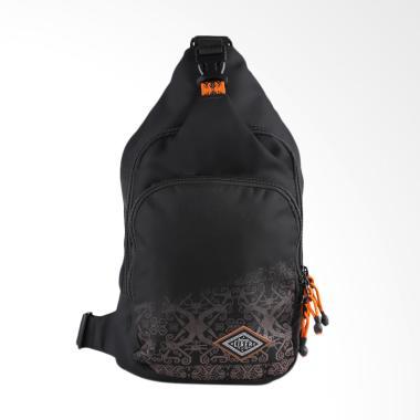 Eiger Crosslink Bag Borneo Sling Bag - Black 7L 1989