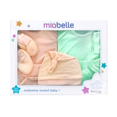 Miabelle GSMB001-OH Baby Gift Set [5 pcs]