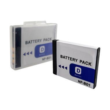 SDV Baterai for Sony Kamera NP-BD1 [2100 mAh]