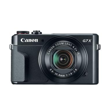 harga Canon PowerShot G7X Mark II Kamera Pocket - Hitam Blibli.com