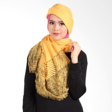 Helwa Tierack Hijab Pashmina - Kuning