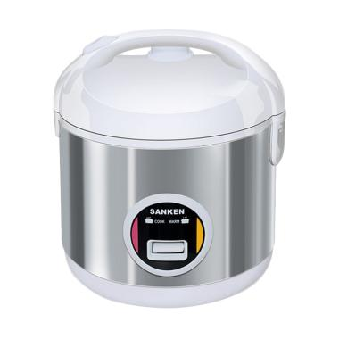 Sanken SJ-203WH Rice Cooker - Putih [1 L]