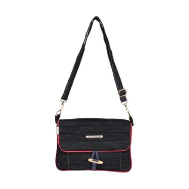 Catenzo Woman SF 002 Sling Bag - Black