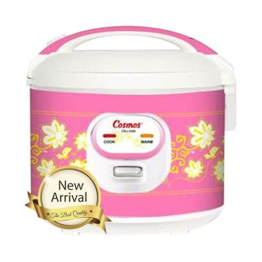 Cosmos CRJ-3306 Rice Cooker [1.8 L] Pink Pastel