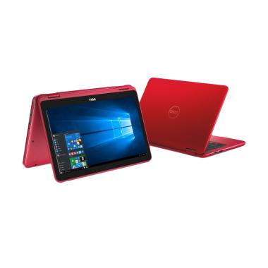 DELL Inspiron 11-3168 Notebook - Red [N3710/ 4GB/ 500 GB]