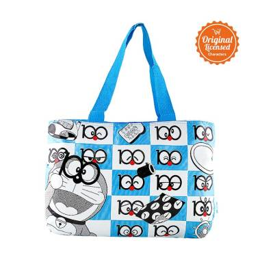 Doraemon Thematic Tote Bag - Blue