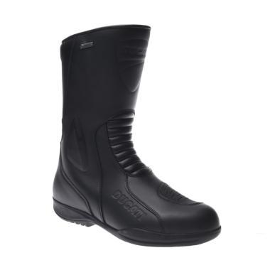 Ducati Strada 13 Sepatu Boots - Black