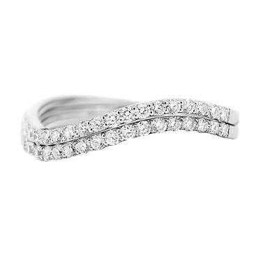 Lino P1605160023 Cincin Berlian Emas Putih [18K]