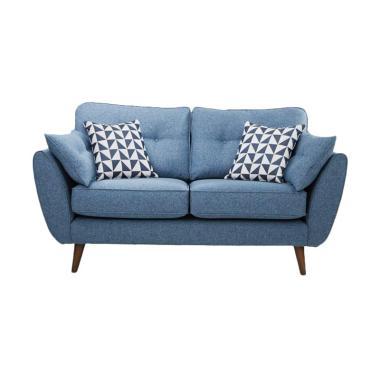 Malibu Sunmoon 2 Seater Sofa - Blue