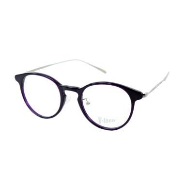 Vtech 0724 Frame Kacamata Bulat - Purple