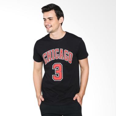 NBA Style Chicago Bulls Dwyane Wade ... Basket Pria (NBATS16-126)