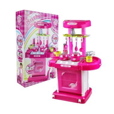 Mainan Kitchen Set Koper barbie Anak