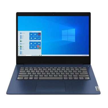 harga LENOVO IdeaPad 3 14ADA05 - AMD RYZEN 3-3250U - WIN10+OHS [81W000GCID] Abyss Blue Blibli.com