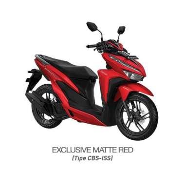 harga Sumatera - Honda New Vario 150 eSP CBS ISS Exclusive Sepeda Motor [VIN 2021] No Matte Red Belitung Blibli.com