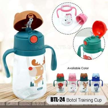 harga Botol Minum Bayi 400 Ml Botol Dot Baby Training Cup Bottle Botol Minum Anak Botol Anak Btl-24 Brown Blibli.com