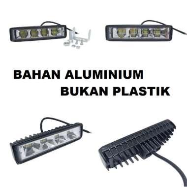 harga Lampu Tembak Sorot LED CWL 24 Mata 1 Baris 72 Watt Offroad 72Watt 72W Motor Mobil Kabut 72 W W24A Blibli.com