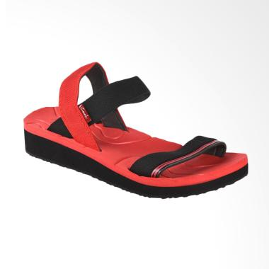 Carvil SIOMI-L Sandal Wanita - Red Black