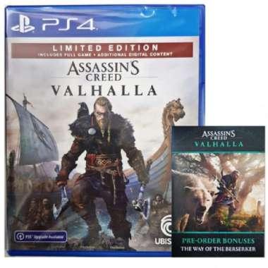 harga SONY PS4 Assassins Creed Valhalla Limited Edition +DLC Region 3 English Blibli.com