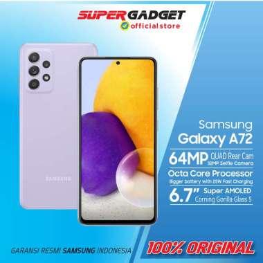 harga Samsung Galaxy A72 8/128 8/256 GB Kamera 4K RAM 8 ROM 128 256 Snapdragon 720G HP Amoled Resmi SEIN Awesome Violet 8/256 GB Blibli.com