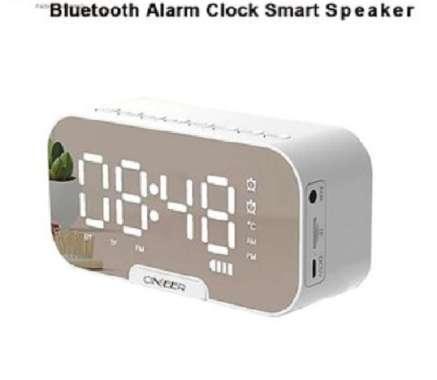 harga Speaker jam Bluetooth Versi 5.0 + Alarm dan Radio Dengan 2 Variasi Pilihan Q5&Q9 Q5- PUTIH Blibli.com