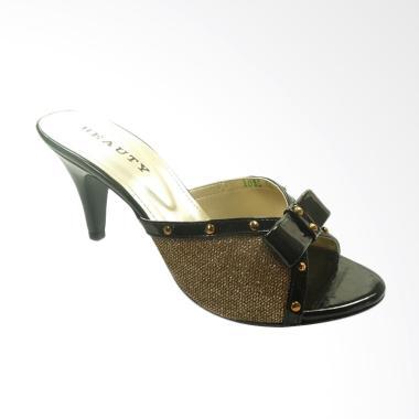 Beauty Shoes BE 1039 Sandals Heels Wanita - Gold