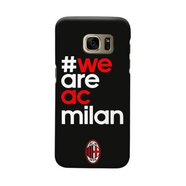Indocustomcase AC Milan ACM01 Cover ... msung Galaxy S6 Edge Plus