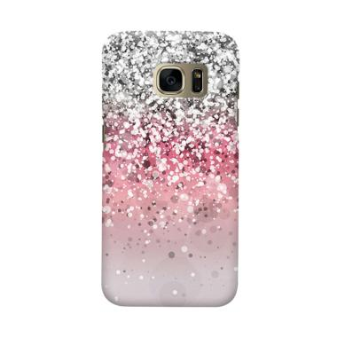 Indocustomcase Glitter 2 Cover Casing For Samsung Galaxy S6 Edge Plus