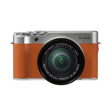 Fujifilm X A10 Xc 16 50 Kamera Mirrorless Brown