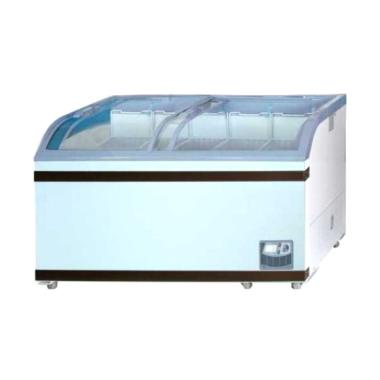 GEA SD-500BY Sliding Curve Glass Freezer [500 Liter]