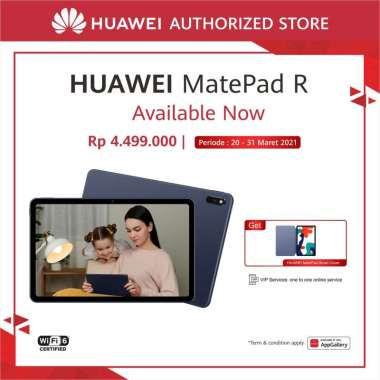 HUAWEI Matepad 10.4 R WiFi Only [4GB / 128GB] Free Flip Cover Grey