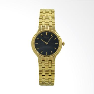 Seiko Stainless Steel SWX028 Jam Tangan Wanita - Gold Black