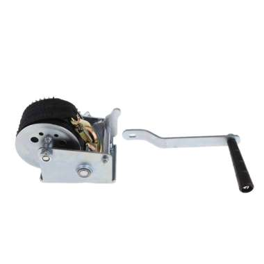 harga 600LBS Boat Trailer Hand Winch Gear Synthetic System with 6m Nylon Strap Blibli.com