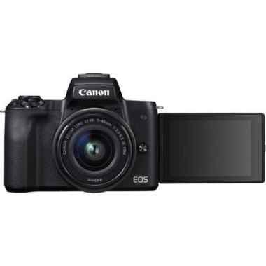 harga Diskon Canon Eos M50 - Canon M50 Kit 15-45 Paket 64Gb Kamera Mirorrless - Tanpa Paket Trend Blibli.com