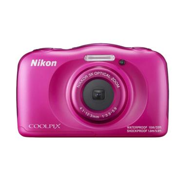 Nikon Coolpix W100 Kamera Pocket Wa ... k + Free LCD Screen Guard