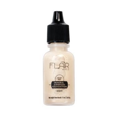 Flair Make Up Velvet Mist Mineral A ...  Foundation [15 mL] Light