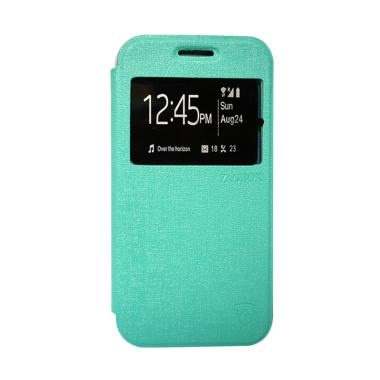 ZAGBOX Flip Cover Casing for Oppo F3 Plus or R9S Plus - Hijau