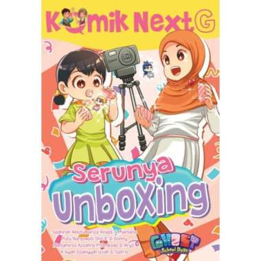 harga Buku Mizan Komik Next G Serunya Unboxing Blibli.com